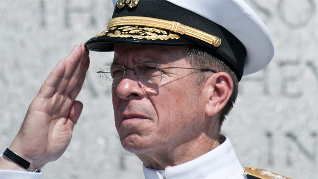 Admiral Michael Mullen: Farewell and thank you