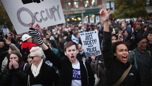 Has Occupy Wall Street reined in CEO bonuses? No.