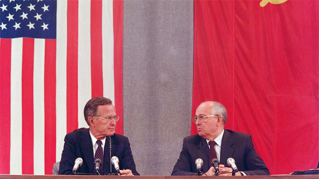 Republican presidents' efforts to reduce nuclear arms