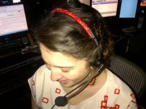 Becky Sparkle headset