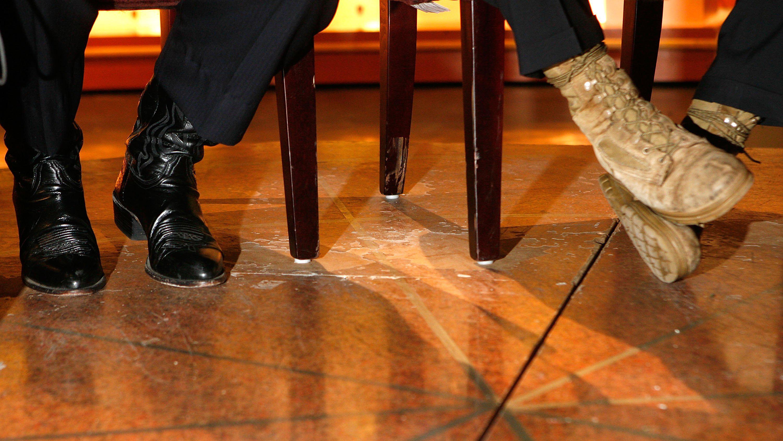 Congress boots