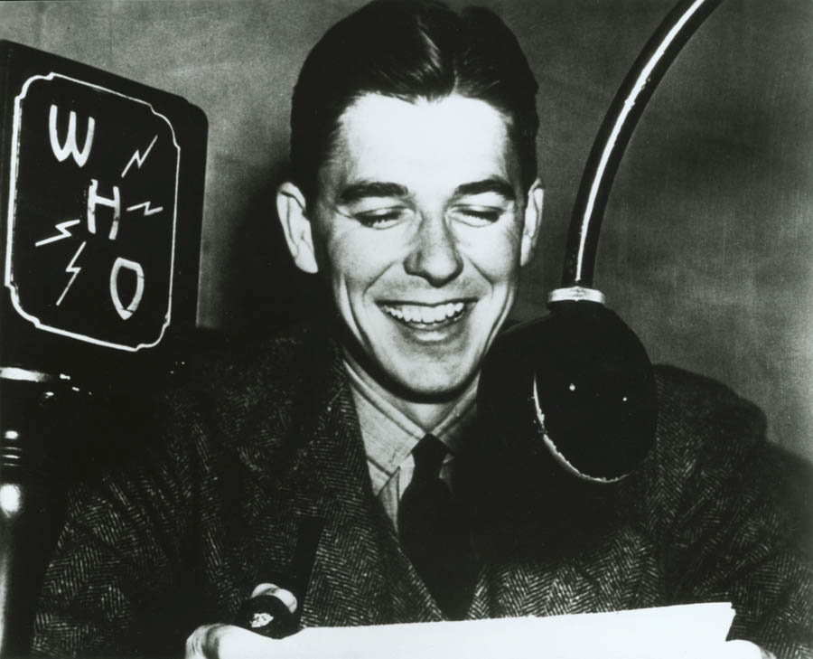 Ronald Reagan the Radio Host: Long before he made his big screen debut in Hollywood or ordered Gorbachev to tear down a certain German wall, President Reagan honed his oratory skills by working as a sports radio announcer. Source: http://www.whitehouse.gov/about/presidents/ronaldreagan
