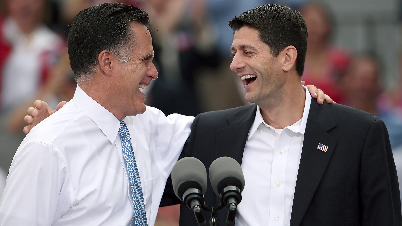 Republican Presidential Candidate Mitt Romney Announces Rep. Paul Ryan As His Vice Presidential Pick