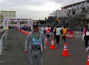 Amb Faily - Tokyo Marathon2