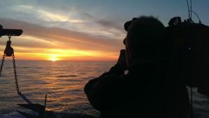 camera tuna sunset