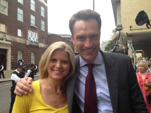 Kate Bolduan and CNN Correspondent Max Foster