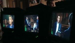Obama Cuomo interview behind the scenes