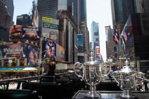 US Open trophy