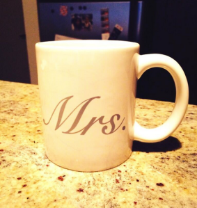 @BenGJohn: Got stuck with the wife's coffee mug. #NewDay #CoffeeCup