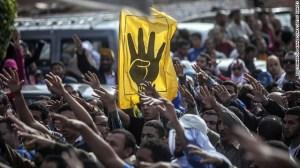 Muslim Brotherhood supporters rally in November.
