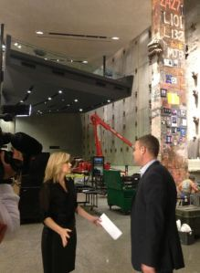 Joe Daniels, the president of the National 9/11 Museum, gives CNN's Kate Bolduan a tour before it opens to the public.