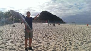 chris on beach rio
