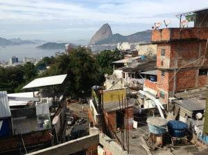 favela view of brazil