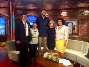 "Former Baylor star Isaiah Austin stops by ""New Day."""