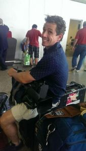 cuomo on luggage