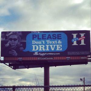 Mile 1070: Des Moines. Funny. #iowa #insidepolitics