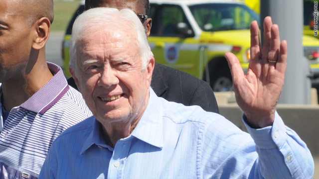 Jimmy Carter believes the NSA monitors his e-mails