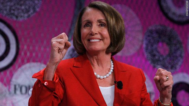 Pelosi, Obama again blast third-party spending