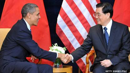 Obama and Hu to confer over Korean crisis