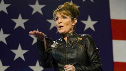Palin delivers a gaffe-filled message