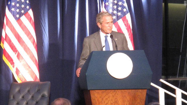 What Bush misses about the Oval Office
