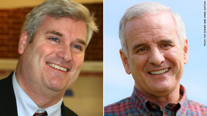 Dayton makes tiny gains in first day of Minnesota recount