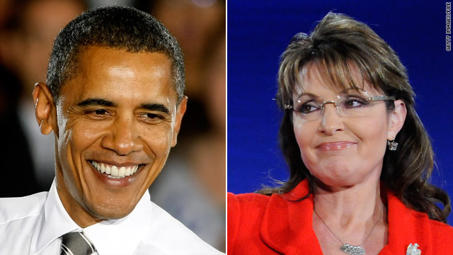 Poll: Obama eight point advantage over Palin in '12 matchup