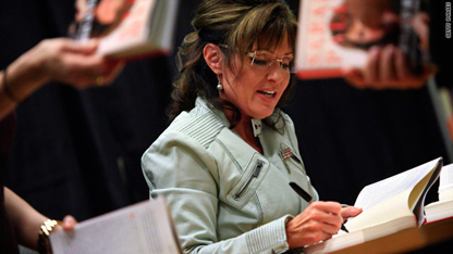 TIME: Palin Hauls in Nearly $500k In Just Over a Month