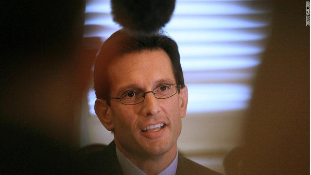 Cantor criticizes Obama's hostage analogy
