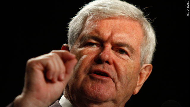 Gingrich issues call to replace left
