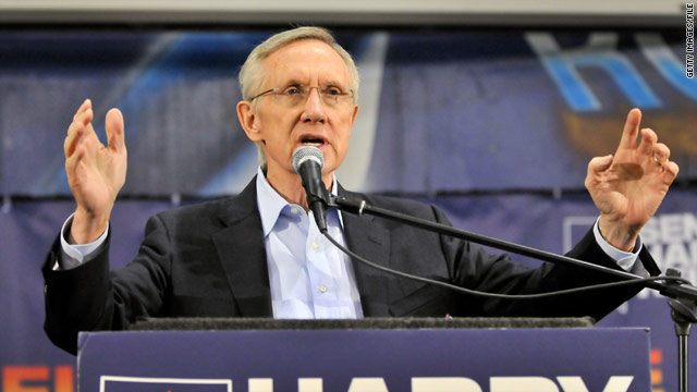 Reid may press ahead with 'don't ask, don't tell' vote