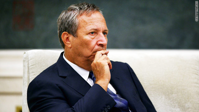 Under consideration for Fed, Summers suspends Citigroup role
