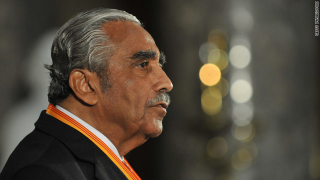 Rangel makes surprise appearance at Perry's N.Y. event