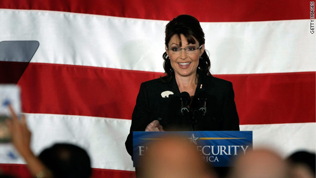 Palin's intentions questioned as she heads back to Iowa