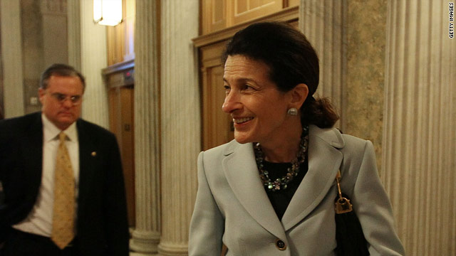 Hill Hallways: Sen. Snowe Welcomes Tax Cut Agreement