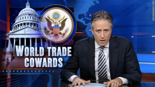 Political Circus: Stewart calls GOP 'World Trade cowards'