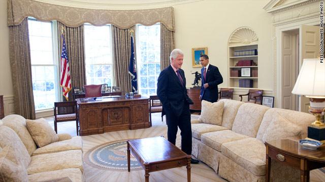 Clinton, Obama headline Virginia fund-raiser