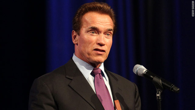 Schwarzenegger asks, 'What would Ronald Reagan have done?'