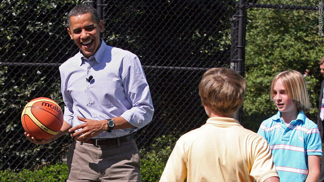 Political Circus: Obama as coach in chief