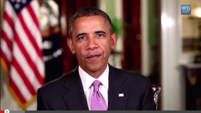 Obama keeps pressure on Congress in weekly address