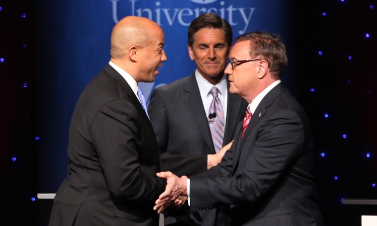 Final NJ Senate debate produces platitudes, barrage of one-liners, little policy-talk