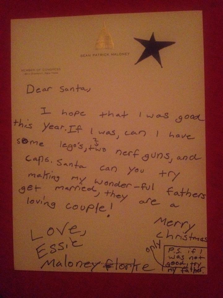 Essie Letter to Santa