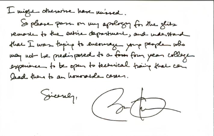 Obama letter art history professor PG2