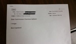 Copeland resignation letter 1