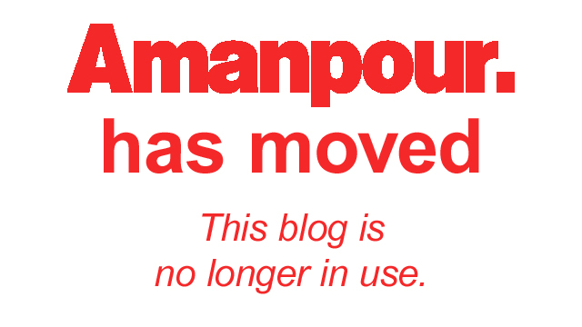 Amanpour has a new home – this blog is no longer in use