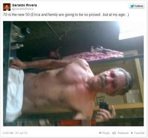 Geraldo Rivera tweet
