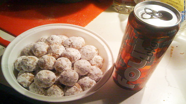 Four Loko holiday balls - you are too good a person to make these