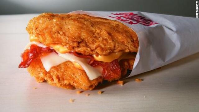 KFC Double Down rises again like a greasy, cheesy phoenix