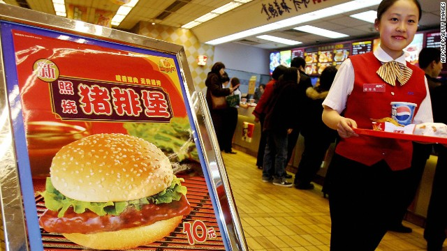 McD's and Yum Brands in floor meat foul-up